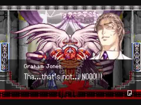 Graham in Aria of Sorrow