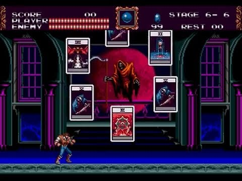 Death in Super Castlevania IV