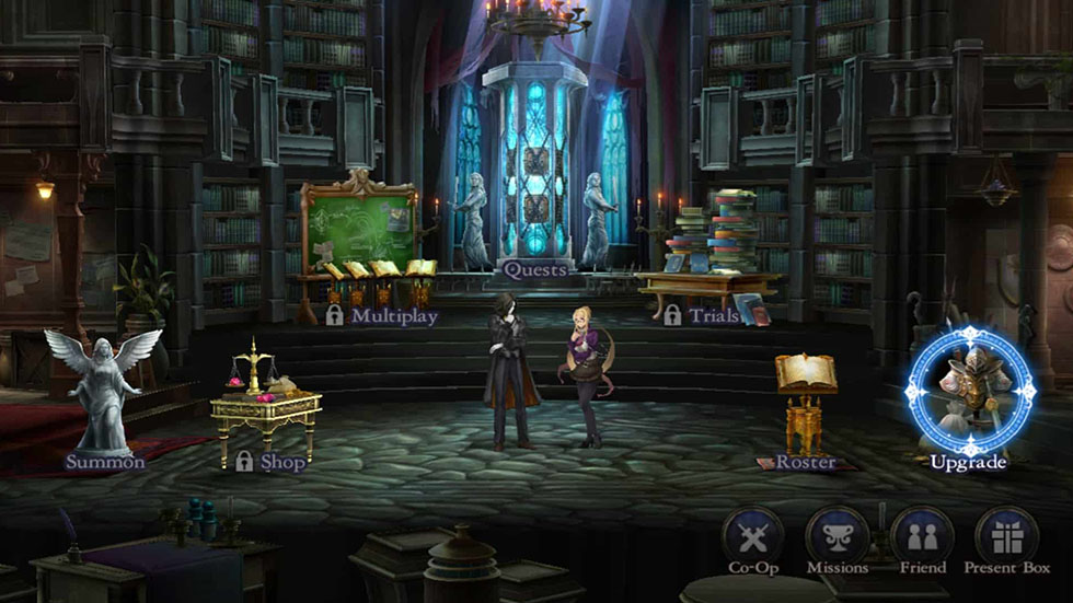 Castlevania: Grimoire of Souls in Action