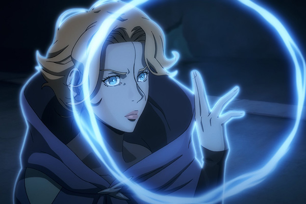 Sypha in Netflix's Castlevania
